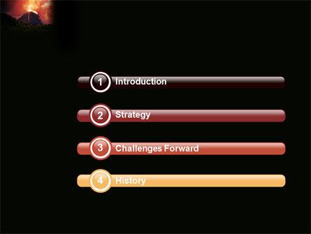 Eruption PowerPoint Template Slide 3