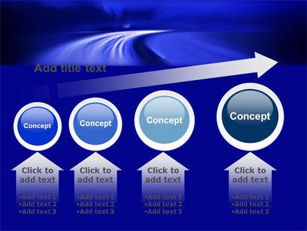 Blue Twilight Movement PowerPoint Template Slide 13