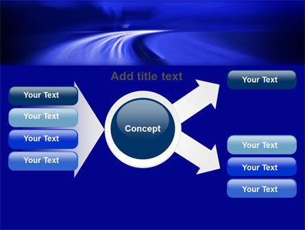 Blue Twilight Movement PowerPoint Template Slide 14