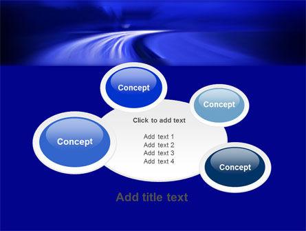 Blue Twilight Movement PowerPoint Template Slide 16