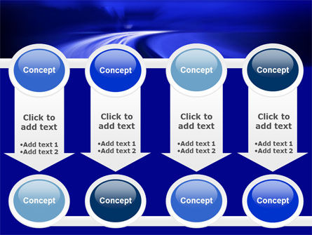 Blue Twilight Movement PowerPoint Template Slide 18