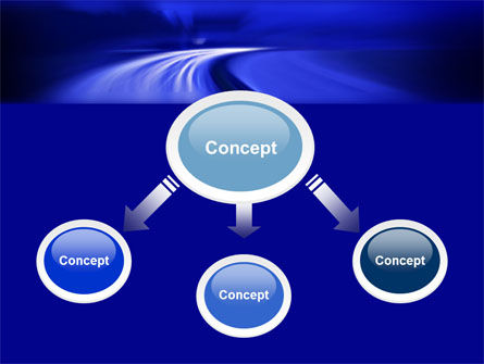 Blue Twilight Movement PowerPoint Template Slide 4