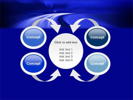 Blue Twilight Movement PowerPoint Template Slide 6