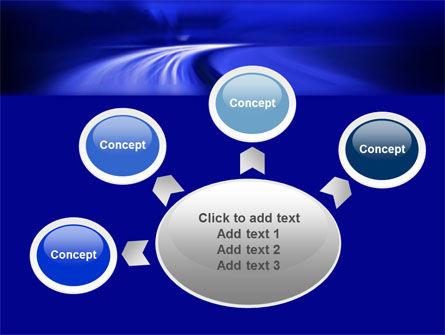 Blue Twilight Movement PowerPoint Template Slide 7