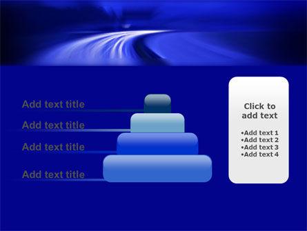 Blue Twilight Movement PowerPoint Template Slide 8