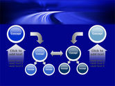 Blue Twilight Movement PowerPoint Template#19
