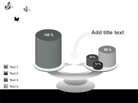 Butterfly Motif PowerPoint Template Slide 10