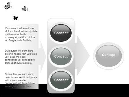 Butterfly Motif PowerPoint Template Slide 11