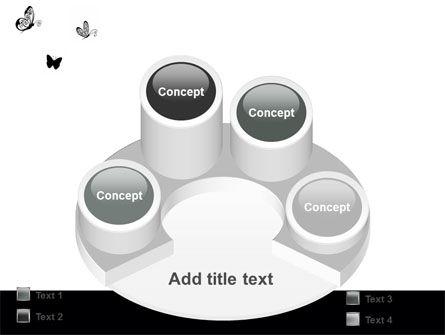 Butterfly Motif PowerPoint Template Slide 12