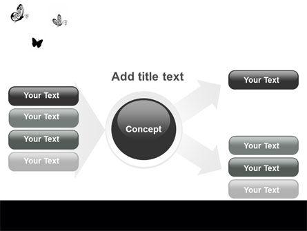 Butterfly Motif PowerPoint Template Slide 14