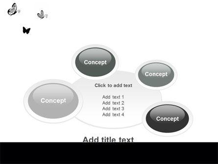 Butterfly Motif PowerPoint Template Slide 16