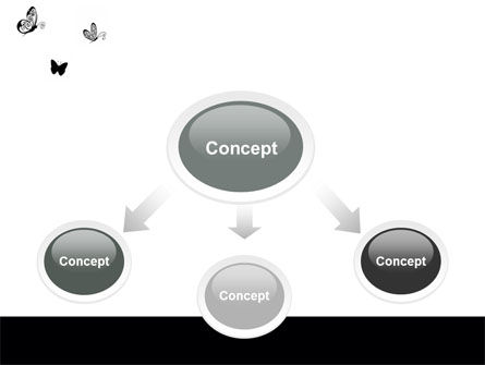 Butterfly Motif PowerPoint Template Slide 4