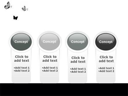 Butterfly Motif PowerPoint Template Slide 5