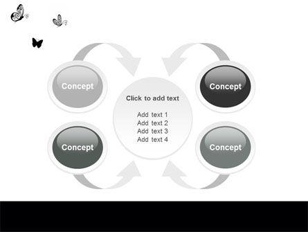 Butterfly Motif PowerPoint Template Slide 6