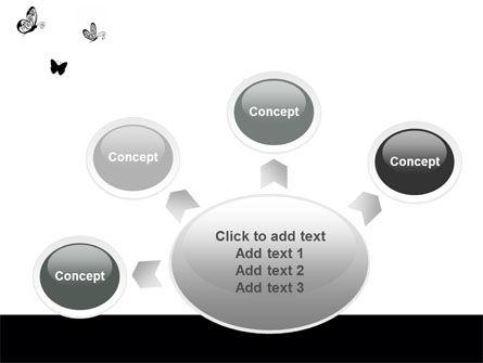 Butterfly Motif PowerPoint Template Slide 7