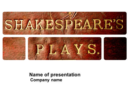 Shakespeare PowerPoint Template