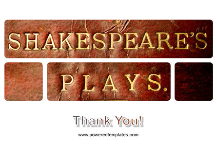 Shakespeare PowerPoint Template Slide 20