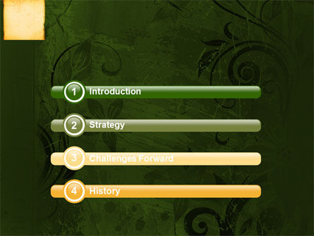 Bamboo Theme PowerPoint Template Slide 3