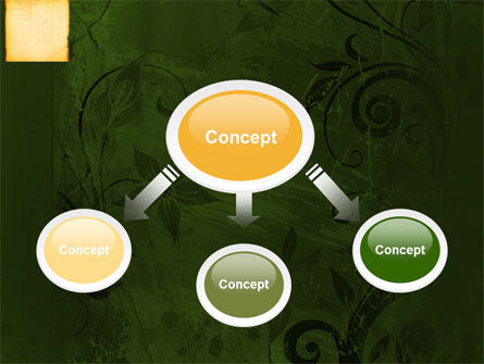 Bamboo Theme PowerPoint Template, Slide 4, 04107, Abstract/Textures — PoweredTemplate.com