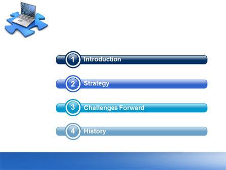 Laptop Data PowerPoint Template Slide 3