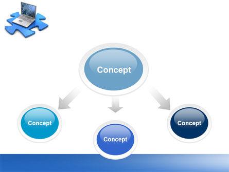 Laptop Data PowerPoint Template Slide 4