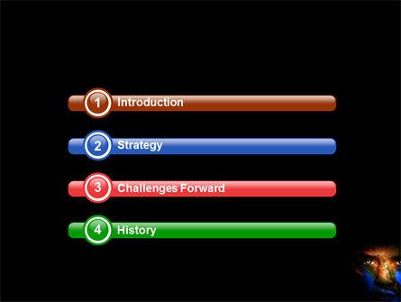 Face of the World PowerPoint Template, Slide 3, 04116, Global — PoweredTemplate.com