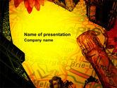 Careers/Industry: Vakantie In Frankrijk PowerPoint Template #04117