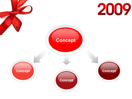 2009 yr PowerPoint Template, Slide 4, 04122, Holiday/Special Occasion — PoweredTemplate.com