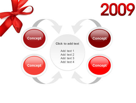 2009 yr PowerPoint Template Slide 6