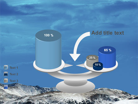 Snowy Mountains PowerPoint Template Slide 10