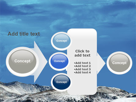 Snowy Mountains PowerPoint Template Slide 17