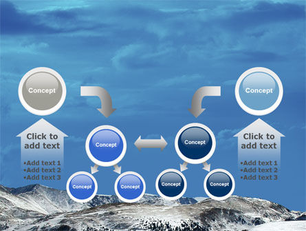 Snowy Mountains PowerPoint Template Slide 19