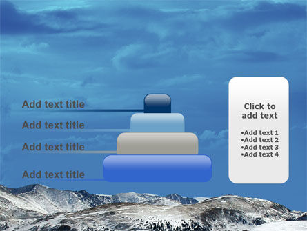 Snowy Mountains PowerPoint Template Slide 8