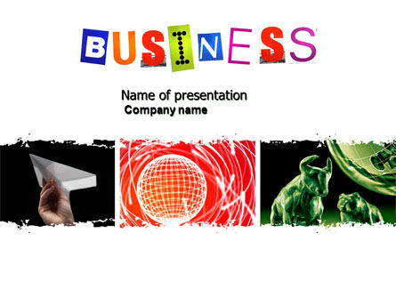 Business: Business Theme PowerPoint Template #04125