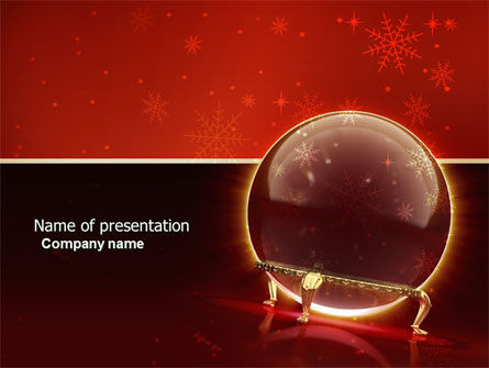 Holiday/Special Occasion: Fortune-telling PowerPoint Template #04128