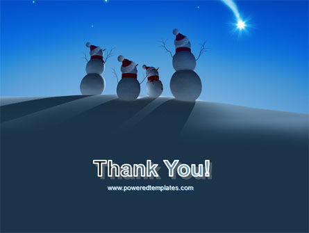 Snow Men PowerPoint Template Slide 20