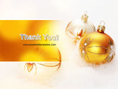 Christmas Decorations Free PowerPoint Template#20