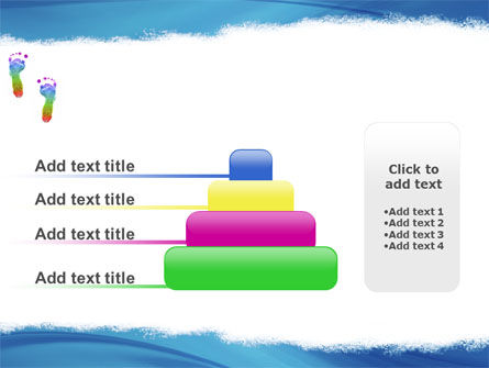 Foot Print PowerPoint Template Slide 8