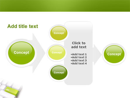 Cash Button PowerPoint Template Slide 17