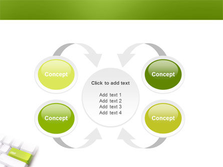 Cash Button PowerPoint Template Slide 6