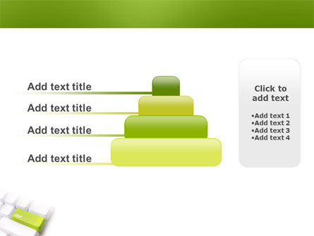 Cash Button PowerPoint Template Slide 8