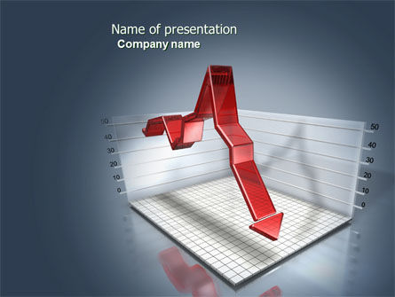 Financial/Accounting: Diagram In Isometric View PowerPoint Template #04139