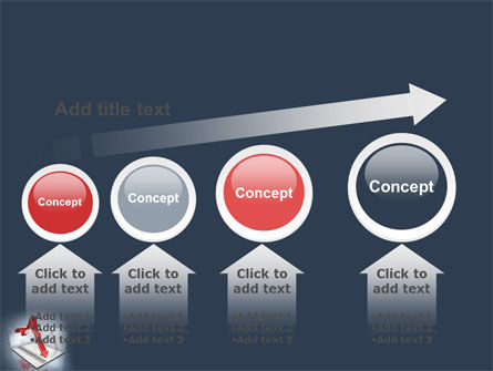 Diagram In Isometric View PowerPoint Template Slide 13