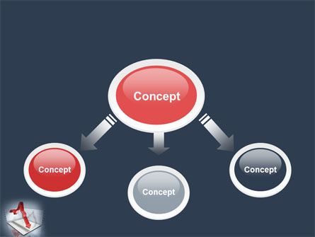 Diagram In Isometric View PowerPoint Template Slide 4