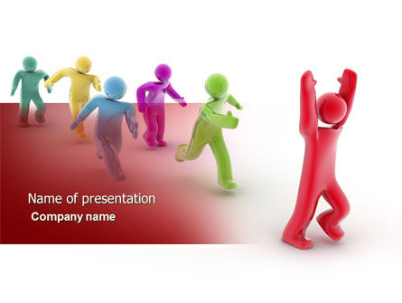 Victory PowerPoint Template, 04144, Consulting — PoweredTemplate.com