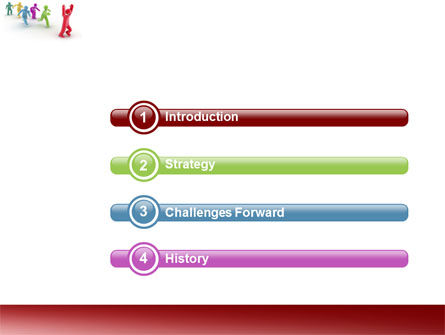 Victory PowerPoint Template, Slide 3, 04144, Consulting — PoweredTemplate.com