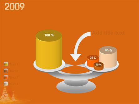 N 2009 Y Free PowerPoint Template Slide 10