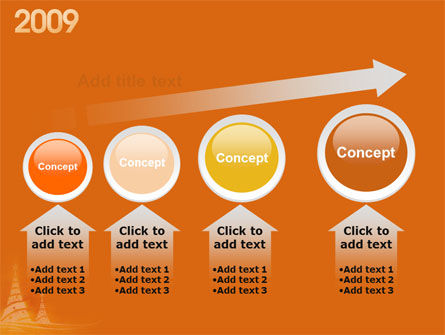 N 2009 Y Free PowerPoint Template Slide 13