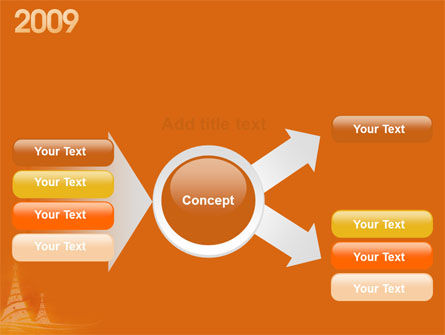 N 2009 Y Free PowerPoint Template Slide 14