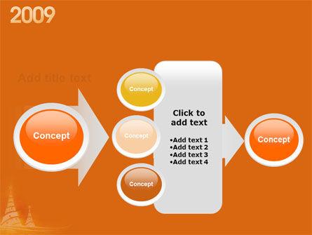 N 2009 Y Free PowerPoint Template Slide 17